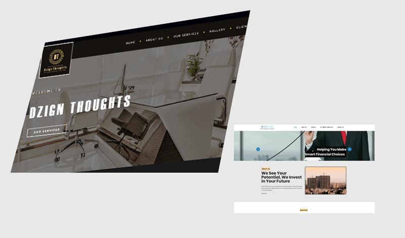 website design slide 3